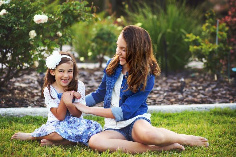 Sarasota Family Photography Sister Session