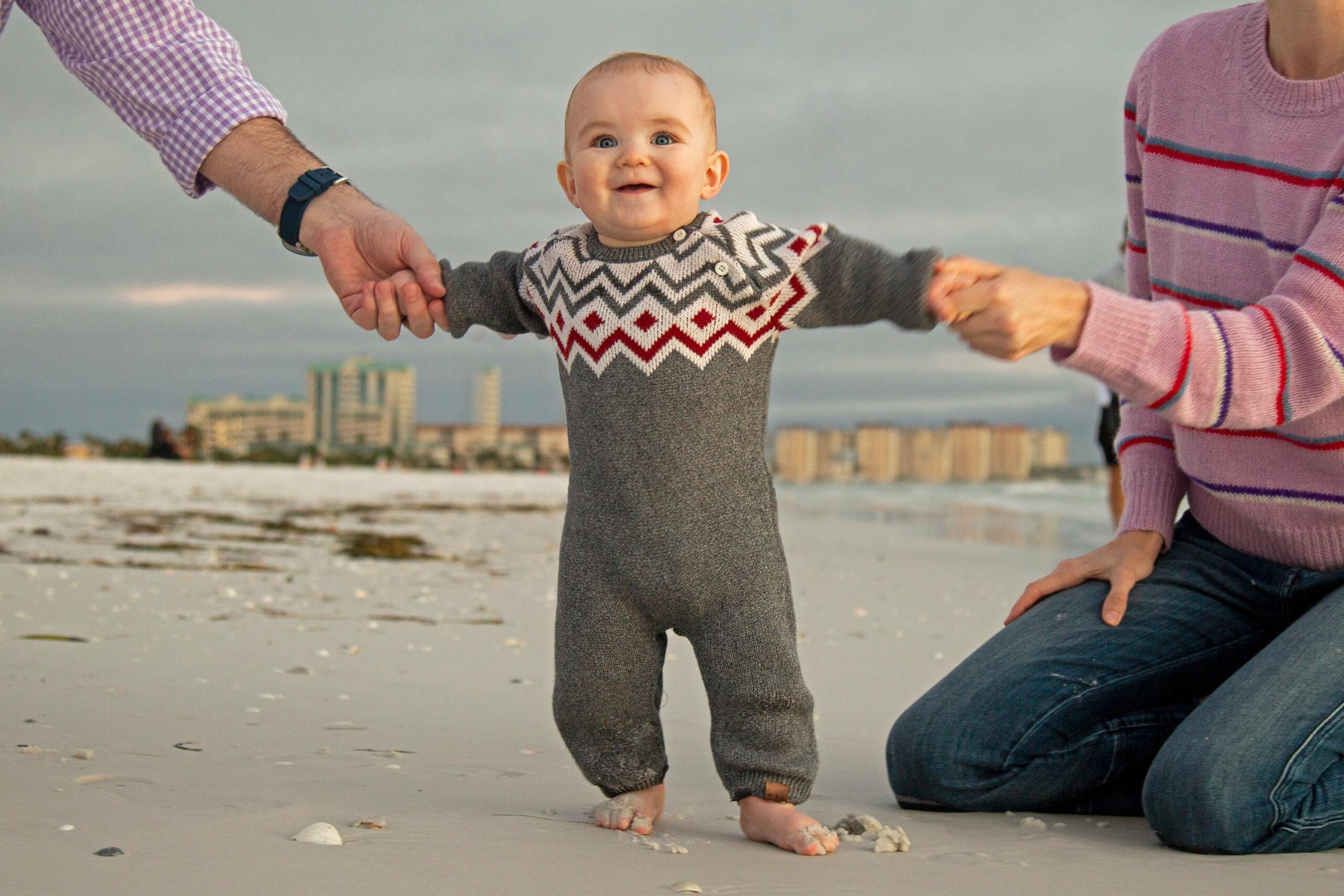 Family Photography Sarasota Florida Lido Beach